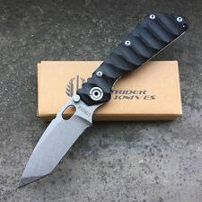 Strider Schwarz G10  Einhandmesser Jadpmesser Klappmesser Messer Hunting Knife