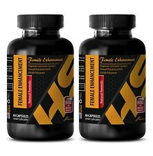 Horny goat weed pills FEMALE ENHANCEMENT COMPLEX 1560mg 2 Bottles 120 Capsules