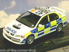 IXO 1/43 MITSUBISHI LANCER EVO VIII ESSEX POLICE ANPR INTERCEPT TEAM 2007 MOC110