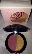 Duwop Isla Sirena Seashell Cheek Dual Blush Highlighter *ROGUE* Bronze Amber NIB