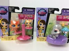Littlest Pet Shop # 3849 3850 3851 3852 Pia Pudley Kimmie Katz New In Package