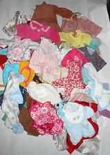 """Mixed Lot of Doll Clothes 18""""  & Smaller"""