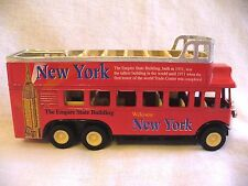 SS 5855 Red New York Empire State Building Double Decker Bus