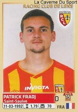 129 PATRICK FRADJ FRANCE RC.LENS STICKER FOOTBALL 2015 PANINI ~