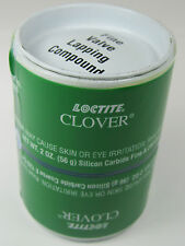 Clover Loctite 2oz ea 120 & 280 Grit Grease Mix Silicon Carbide Lapping Compound