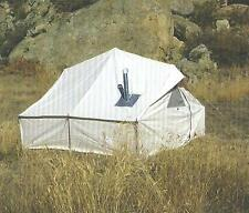 NEW!!! 10x10x3ft Outfitter Canvas Wall Tent w/Poles