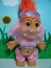 "NEW GENIE - 5"" Russ Troll Doll - NEW IN BAG - Orange Hair"