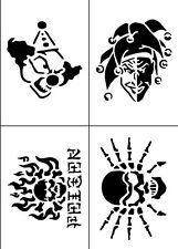 T24 - Joker Temporary Tattoo Stencils