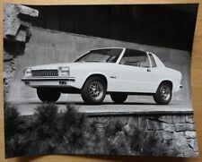 FORD Mustang III sperimentale concetto AUTO ORIG 1979 GRANDE STAMPA FOTO GHIA TORINO