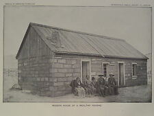 Pl LXXXVIII MODERN HOUSE OF A WEALTHY NAVAJO INDIAN RESERVATION ARIZONA 1897 GC