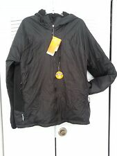 Black Champion Insulated Hooded Jacket Mens XL Bundle With Toe/HandWarmers