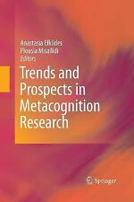 Trends and Prospects in Metacognition Research (2014, Paperback)