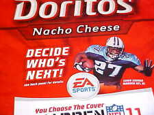 TENNESSEE TITANS TN NFL FOOTBALL EDDIE GEORGE DORITOS ADVERTISEMENT 2005 MADDEN~