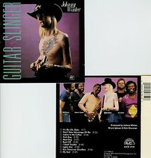 JOHNNY WINTER  guitar slinger