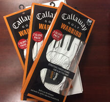 NEW Callaway Golf Warbird Glove Medium LEFT HAND 6-Pack