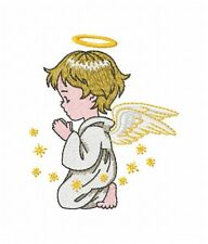 Angel Design - Individual Machine Embroidery Designs on Multi-format disk