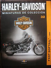 FASCICULE 32 MOTO COLECCION HARLEY DAVIDSON FXST SOFTAIL 1984