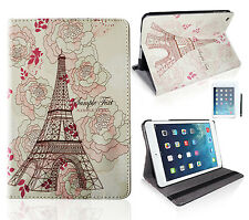 "iPad Mini / 2 Retina / 3 Tasche Cover ""Paris Tower"" Smart Case Schutz Hülle Etui"