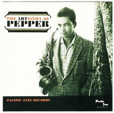 ART PEPPER The Artistry of CD 1956/7 Pacific Jazz Bill Perkins Shorty Rogers '92