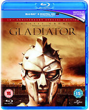 GLADIATOR (2000) - 15TH ANNIVERSARY - BLU-RAY - REGION B UK