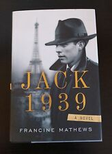Jack 1939 by Francine Mathews (2012, Hardcover)  FREE SHIPPING !!!