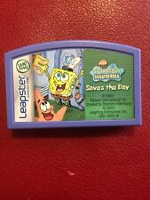 Spongbob Squarepants Saves the Day LeapFrog Leapster Learning Game
