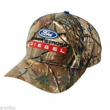 FORD SUPER DUTY 4.5 6.0 6.4 6.7 7.3 POWERSTROKE V8 DIESEL REALTREE CAMO HAT/CAP!