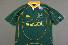 CANTERBURY SA RUGBY SPRINGBOKS SOUTH AFRICA  JERSEY SIZE 2XL XXL (adults)