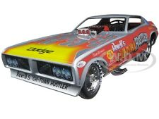 PartDetached 1973 DODGE CHARGER CHI-TOWN HUSTLER FUNNY CAR 1/18 AUTOWORLD AW1168