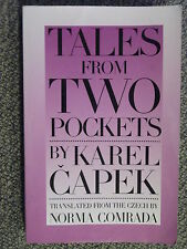 Tales from Two Pockets by Karel Capek 1994 48 Crime Puzzle Mysteries Black Humor