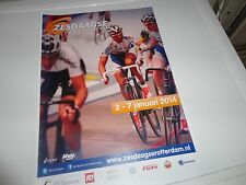 Cyclisme, ciclismo, wielrennen, AFFICHE 6-DAAGSE ROTTERDAM 2014