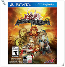PSV Grand Kingdom SONY Playstation VITA NIS America RPG Games