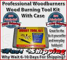 Woodburner Wood Burning Burner Professional Tools Hobby Kit With Case BRAND  NEW