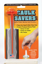Caulk Saver-- Caulk Tube Plug