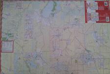 Ontario Payette Cascade McCall Emmett Weiser 27 x 39 Laminated Wall Map (G)