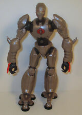 "2006 BAT Silver Cobra 8.5"" Sigma 6 Hasbro G.I. Joe Cobra Android Action Figure"