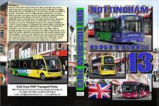 22574. Nottingham. UK. Buses. April 2013. One of our regular visits spanning sev