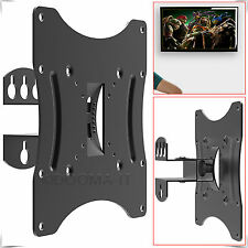 "17"" To 42"" 3D TV Wall Mount Bracket Tilt Swivel Plasma LED LCD For Samsung LG"