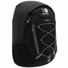 BLACK KARRIMOR SMALL 10L 10 LITRE CAMPING WALKING TRAVEL RUCKSACK BACKPACK BAG
