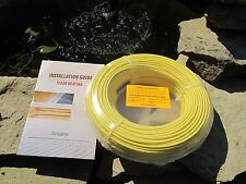 Zero EMF!Under Floor,Warm tile Heating cable 740 W for 45-55 sq.ft.(4-5 sq. m)
