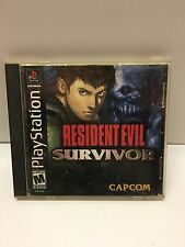 Playstation PS1 Resident Evil Survivor Tested