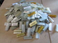 220 USED-GLASS/WOOD SHELF SHELVES ADHESIVE GRABBER PRICE SIGN/LABEL/TAG HOLDERS