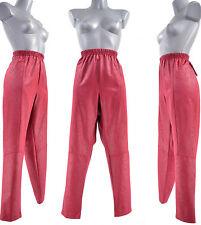 Pantalon Femme T 5 46 48 GRANDE TAILLE ROUGE BORDEAUX GRENADE ZAZA2CATS