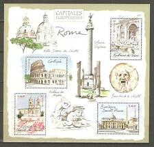 FRANCE 2002...Miniature Sheet n° 53 MNH...European Capitals ROME (ITALIA)