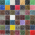 1000 Crystal Flat Back Resin Rhinestones Gems 60 colors, 2mm, 3mm, 4mm, 5mm, 6.5