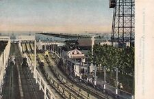 Carte postale ancienne ETATS-UNIS USA CONEY ISLAND the race course