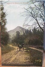 Irish Postcard GLEN OF THE DOWNS Wicklow Sugarloaf Dublin Ireland Valentine