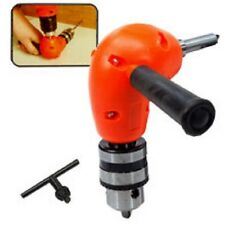 NEW RIGHT ANGLE ADAPTOR METAL GEAR 90 DEGREE ATTACHMENT POWER DRILL HOME REPAIR