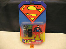 Superman SUPERBOY w/Mammoth Capture Claw and Collector Card NEW 1995
