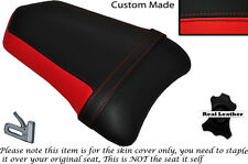 DESIGN 2 BLACK & RED CUSTOM FITS DUCATI 999 749 REAR PILLION SEAT COVER